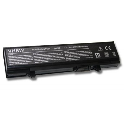 Dell 312-0762, 312-0769 utángyártott laptop akkumulátor akku - 4400mAh (11.1V) ezüst-szürke