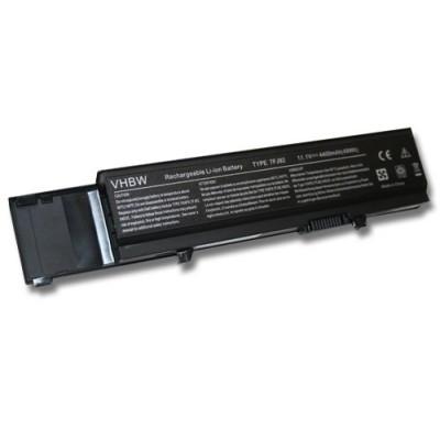 Dell Vostro 3400 / 3500 / 3700 (312-0997, 312-0998) utángyártott laptop akkumulátor akku - 4400mAh (11.1V) fekete