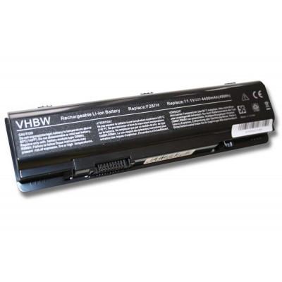 Dell F286H (Inspiron 1410, Vostro A860, 1015 stb.) utángyártott laptop akkumulátor akku - 4400mAh (11.1V) fekete