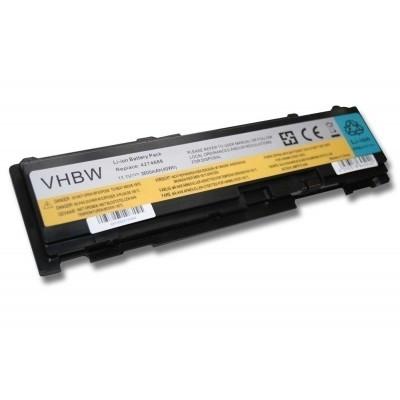 Lenovo 42T4688, 42T4689, 42T4690, ThinkPad T400s T410s utángyártott laptop akkumulátor akku - 3600mAh (11.1V) fekete