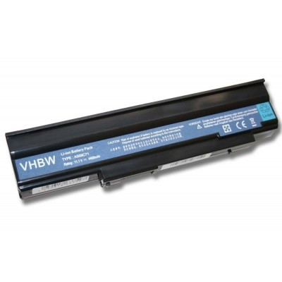 Acer AS09C31, AS09C70, AS09C71, AS09C75 utángyártott laptop akkumulátor akku - 4400mAh (11.1V) fekete