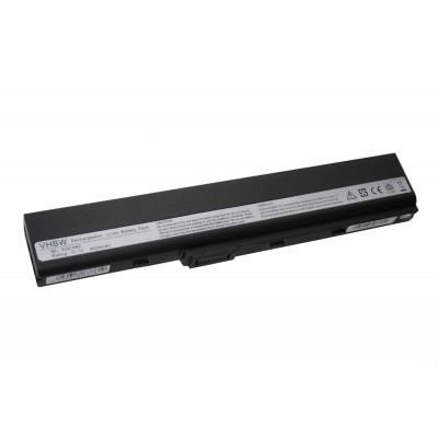 Asus A32-N82 utángyártott laptop akkumulátor akku - 4400mAh (11.1V) fekete