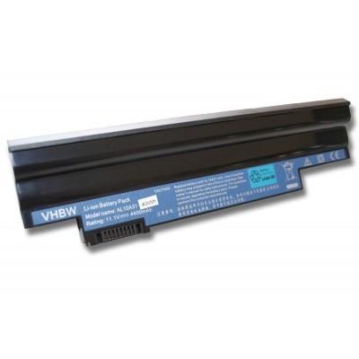Acer AL10BW utángyártott laptop akkumulátor akku - 4400mAh (11.1V) fekete