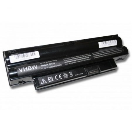 Dell Inspiron 1012 stb. kompatibilis utángyártott 4400 mAh notebook akkumulátor fekete