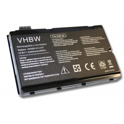 Fujitsu 3S4400-S3S6-07 utángyártott laptop akkumulátor akku - 4400mAh (11.1V) fekete