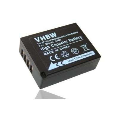 Fuji / Fujifilm NP-W126  utángyártott digitális fényképezőgép akkumulátor akku 800mAh (7.2V)