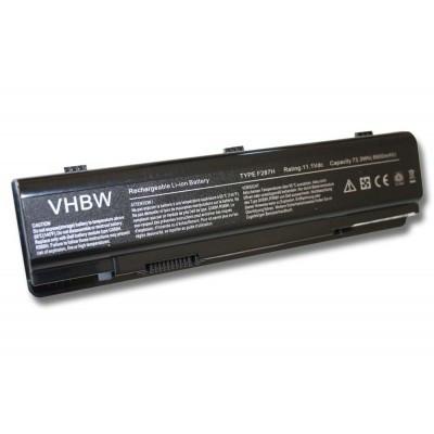 Dell 312-0818 utángyártott laptop akkumulátor akku - 6600mAh (11.1V) fekete