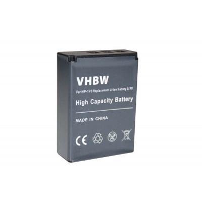 Toshiba PA3985 videókamera utángyártott li-ion akku akkumulátor - 1300mAh (3.7V)
