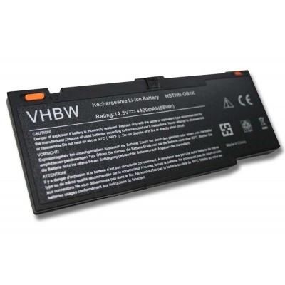 HP 592910-351, 592910-541, 593548-001 Envy 14 utángyártott laptop akkumulátor akku - 4000mAh (14.8V) fekete