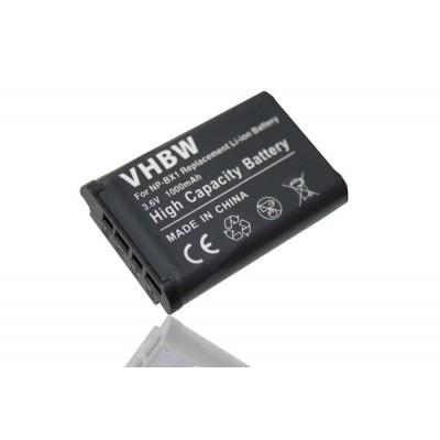 Sony NP-BX1  utángyártott digitális fényképezőgép akkumulátor akku 1000mAh (3.6V)