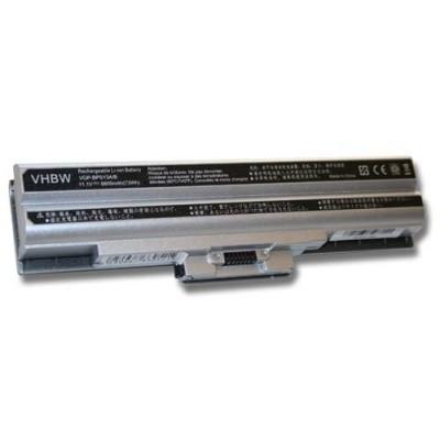 Sony VGP-BPS13A/B utángyártott laptop akkumulátor akku - 6600mAh (11.1V) ezüst