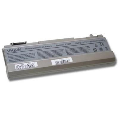 Dell Latitude E6400 / E6410 / E6500, Precision M2400 / M4400 (FU268, FU274, FU571) utángyártott laptop akkumulátor akku - 6600mAh (11.1V) silver-grey