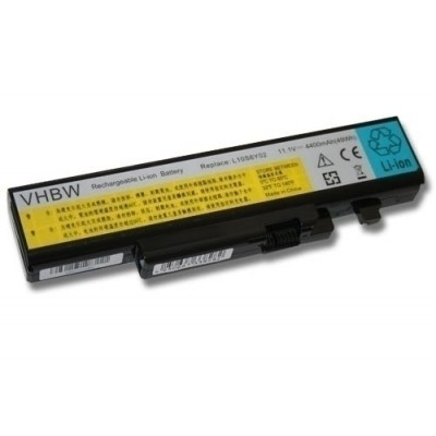 Lenovo IdeaPad Y470 Y570 stb. 57Y6625 utángyártott akku akkumulátor - 4400mAh (11.1V) fekete
