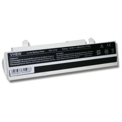 Asus A31-1015, A32-1015 utángyártott laptop akkumulátor akku - 6600mAh (11.1V) fehér