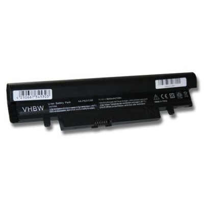 Samsung AA-PB2VC6B utángyártott laptop akkumulátor akku - 6600mAh (11.1V) fekete