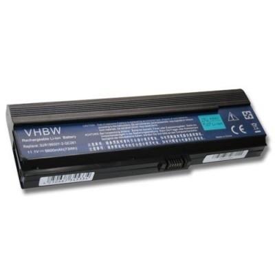 Acer 3UR18650Y-2-QC261 utángyártott laptop akkumulátor akku - 6600mAh (11.1V) fekete