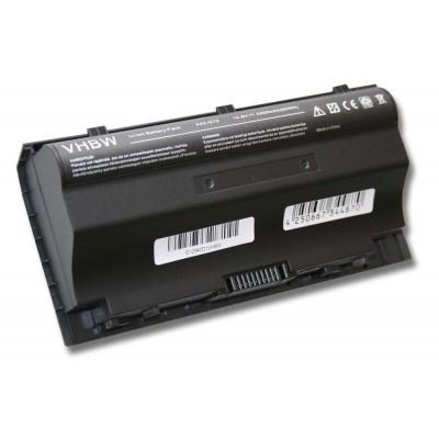 Asus A42-G75 utángyártott laptop akkumulátor akku - 4400mAh (14.8V) fekete