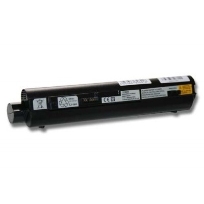 Lenovo 55Y9382, 55Y9383, 57Y6273, 57Y6275 IdeaPad S10-2 utángyártott laptop akkumulátor akku - 6600mAh (11.1V) fekete