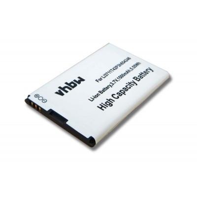 Alcatel Li3711T42P3h654246  utángyártott mobiltelefon li-ion akku akkumulátor - 1500mAh (3.7V)