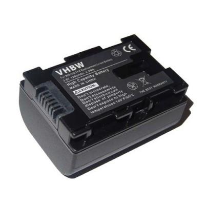 JVC BN-VG114 videókamera utángyártott li-ion akku akkumulátor - 1200mAh (3.6V) információs chippel