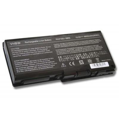 Toshiba PA3730, PABAS207 utángyártott laptop akkumulátor akku - 8800mAh (10.8V) fekete