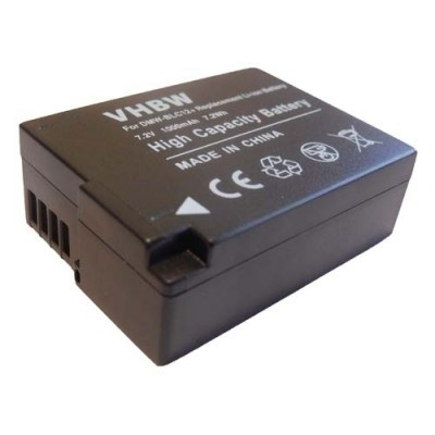 Panasonic DMW-BLC-12, DMW-BLC12, DMW-BLC12E, DMW-BLC12PP  utángyártott digitális fényképezőgép akkumulátor akku 1000mAh (7.2V)