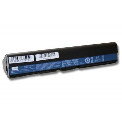 Acer AL12B31, AL12B32, AL12B72, AL12X32 utángyártott laptop akkumulátor akku - 4400mAh (11.1V) fekete