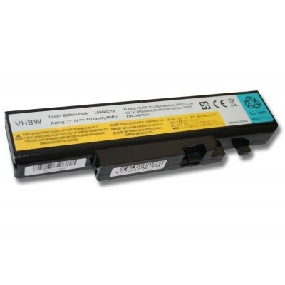 Lenovo 57Y6440 IdeaPad Y460 Y560 utángyártott laptop akkumulátor akku - 4400mAh (11.1V) fekete
