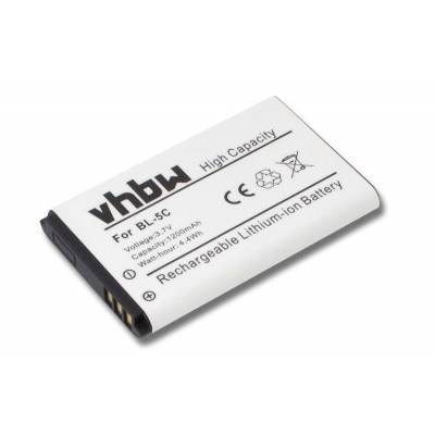 Wiko Lubi2  utángyártott okostelefon li-ion akku akkumulátor - 1200mAh (3.7V)