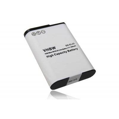 Nikon EN-EL23 utángyártott digitális fényképezőgép akkumulátor akku 1400mAh (3.8V)