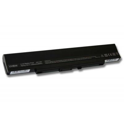 Asus A31-U53 utángyártott laptop akkumulátor akku - 4400mAh (15V) fekete