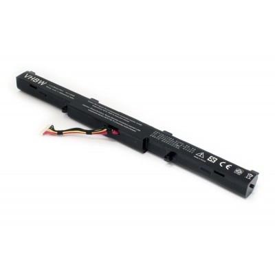 Asus A41-X550E utángyártott laptop akkumulátor akku - 2950mAh (14.8V) fekete