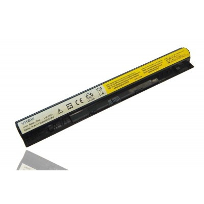 Lenovo 121500176, 90202869 (IdeaPad G510s G5000, G50, Z50, Z70, Z710 stb.) utángyártott laptop akkumulátor akku - 2200mAh (14.8V) fekete