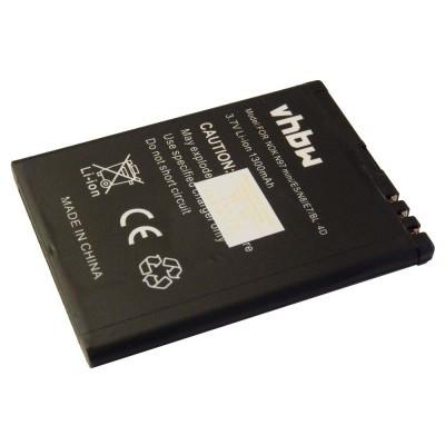 BeaFon BS-01, DRTEL-4D-01, T850  utángyártott mobiltelefon li-ion akku akkumulátor - 1300mAh (3.7V)