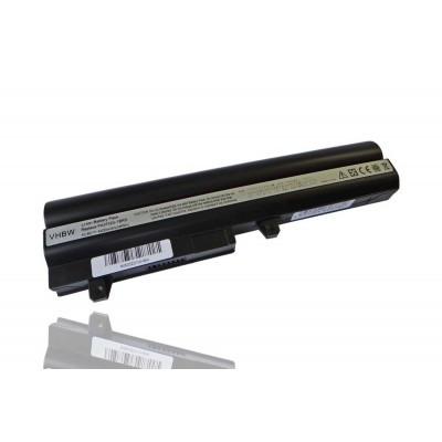 Toshiba PABAS209 utángyártott laptop akkumulátor akku - 4400mAh (10.8V) fekete