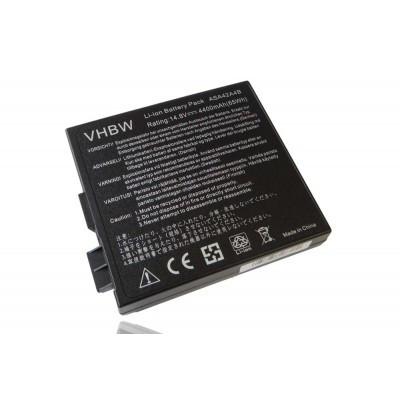 Asus 70-N9X1B1000, 90-N9X1B1000, A42-A4 utángyártott laptop akkumulátor akku - 4400mAh (14.8V) fekete