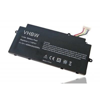 Lenovo 3ICP8/60/70 IdeaPad U510 utángyártott laptop akkumulátor akku - 4050mAh (11.1V) fekete