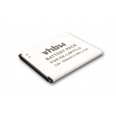 Samsung EB-LIM7FLU S3 MIni stb. utángyártott okostelefon li-ion akku akkumulátor - 1500mAh (3.8V)