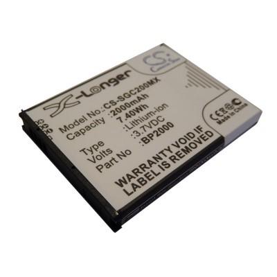 Samsung BP2000, EA-BP2000 Galaxy Camera 2 / EK-GC200 utángyártott mobiltelefon li-ion akku akkumulátor - 2000mAh (3.7V)