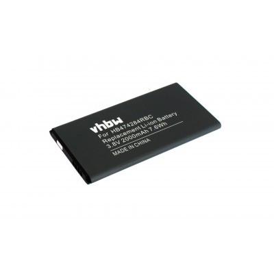 Huawei HB474284RBC Ascend Y550 / Y625 / Y635 stb. utángyártott okostelefon li-ion akku akkumulátor - 2000mAh (3.8V)
