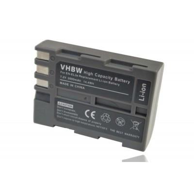 Nikon EN-EL3 utángyártott digitális fényképezőgép akkumulátor akku 2000mAh (7.2V) információs chippel