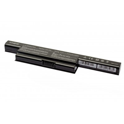 Asus A32-K93, A41-K93, A42-K93 utángyártott laptop akkumulátor akku - 4400mAh (10.8V) fekete