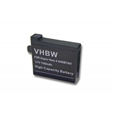 GoPro AHDBT-401 videókamera utángyártott li-ion akku akkumulátor - 1160mAh (3.7V)