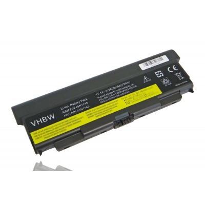 Lenovo 45N1144 ThinkPad T440 T440P T540 W540 stb. utángyártott laptop akkumulátor akku - 6600mAh (11.1V) fekete