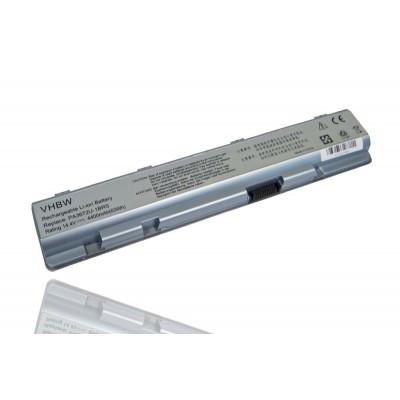 Toshiba PA3672U-1BRS E100 E105-S1802 utángyártott laptop akkumulátor akku - 4400mAh (14.4V) fehér