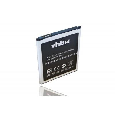 Samsung EB-B130BE / B130 utángyártott mobiltelefon li-ion akku akkumulátor - 1500mAh (3.8V)