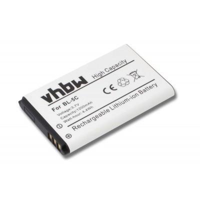 Avus MMDR 12, V2  utángyártott okostelefon li-ion akku akkumulátor - 1200mAh (3.7V)