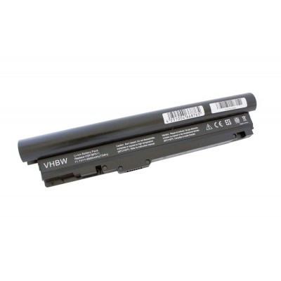 Sony VGP-BPX11 utángyártott laptop akkumulátor akku - 6600mAh (11.1V) fekete