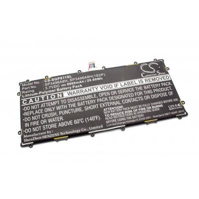Samsung SP3496A8H 8000mAh (3.7V) tablet akkumulátor, Google Nexus 10 és Galaxy tab