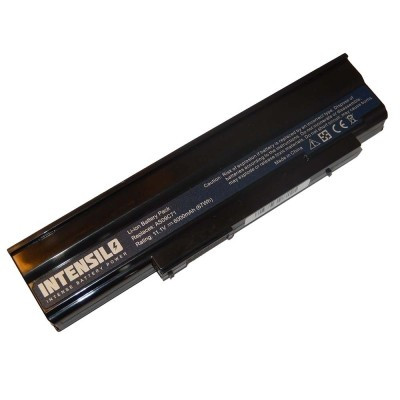 Acer AS09C71 utángyártott laptop akkumulátor akku - 6000mAh (10.8V) fekete